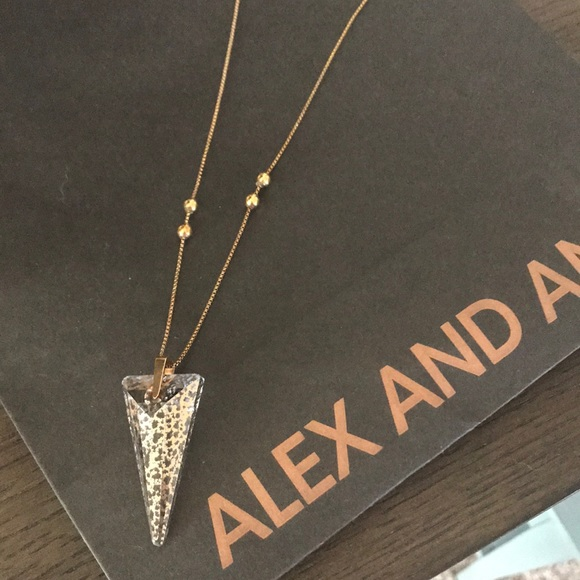 df5658e80 Alex and Ani Jewelry - Alex and Ani Swarovski Crystal necklace